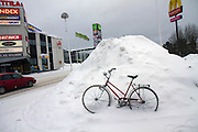 Finland, Helsinki covered in snow Photographed in February