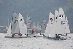 Caledonia MacBrayne Largs Regatta Week 2016<br /> <br /> RS200 Start of Round Cumbrae RAce<br /> <br /> Credit Marc Turner / PFM Pictures.co.uk
