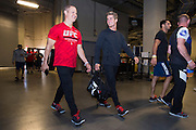LAS VEGAS, NV - JULY 8:  Sage Northcutt enters the building before the UFC 200 weigh-ins at T-Mobile Arena on July 8, 2016 in Las Vegas, Nevada. (Photo by Cooper Neill/Zuffa LLC/Zuffa LLC via Getty Images) *** Local Caption *** Sage Northcutt