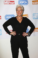 Denise Welch, Daily Mirror and RSPCA Animal Hero Awards, 8 Northumberland Avenue, London UK, 21 October 2015, Photo by Richard Goldschmidt