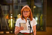 Maxine Peake at the National Theatre to support  the appeal to raise funds to support jobs across the Arts Photo by Mark Anton Smith