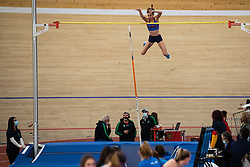 Ajda Osolnik during Slovenian Indoor Championship, Olympic centre Novo Mesto, 13 February 2021, Novo Mesto, Slovenia. Photo by Grega Valancic / Sportida