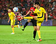 NONTHABURI, THAILAND - JULY 02: WHO during the second half of the Thai League: SCG Muangthong United vs Pattaya United at SCG Stadium, Nonthaburi, Thailand on July 02, 2017.<br /> .<br /> .<br /> .<br /> (Photo by: Naratip Golf Srisupab/SEALs Sports Images)<br /> .<br /> Any image use must include a mandatory credit line adjacent to the content which should read: Naratip Golf Srisupab/SEALs Sports Images