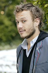 March 6, 2004 - Hollywood, California, U.S. - Australian actor Heath Ledger at the press junket for the film Ned Kelly in Los Angeles California.March 6. 2004  (Credit Image: © Armando Gallo via ZUMA Studio)