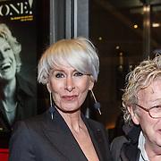 NLD/Amsterdam/20160203 - Premiere Simone, Jan des Bouvrie en partner Monique