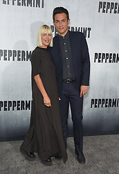 August 30, 2018 - Los Angeles, California, USA - 8/28/18.Nicole Vicius and John Boyd at the premiere of ''Peppermint'' held at the Regal Cinemas LA Live in Los Angeles, CA, USA. (Credit Image: © Starmax/Newscom via ZUMA Press)