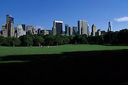 New York. Sheep meadow Central park  New York, Manhattan  Usa /  Sheap meadow, la prairie, Central park  Manhatan, New York  USa