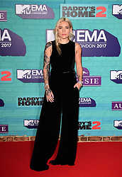 Skylar Grey attending the MTV Europe Music Awards 2017 held at The SSE Arena, London.
