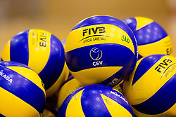 Balls during training camp of Slovenian Volleyball Men Team 1 month before FIVB Volleyball World League tournament in Ljubljana, on May 5, 2016 in Arena Vitranc, Kranjska Gora, Slovenia. Photo by Vid Ponikvar / Sportida