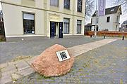 Nederland, Wageningen, 13-3-2013Museum de Casteelse poort is een klein, lokaal gemeentelijk museum wat het cultureel erfgoed van de plaats wageningen bewaart. Ook liggen hier items die gebruikt werden tijdens de capitulatie van de duitsers in hotel de wereld. De zwerfkei is een luisterkei van de liberation route.Foto: Flip Franssen/Hollandse Hoogte