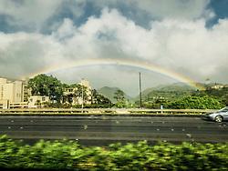 Rainbow Over Honolulu