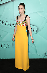Rachel Brosnahan at the Tiffany Blue Book Gala in New York City.