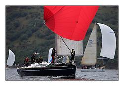 Brewin Dolphin Scottish Series 2011, Tarbert Loch Fyne - Yachting - Day 1 of the 4 day series..GBR9192R ,Eos ,Rod Stuart ,CCC/PEYC ,Elan 410..