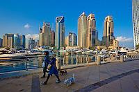 Emirats Arabes Unis, Dubai, Marina Dubai // United Arab Emirates, Dubai, Marina Dubai