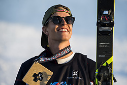 May 19, 2018 - Fornebu, NORWAY - 180519 Øystein Braaten of Norway celebrates the bronze medal after the men's big air ski finals during X Games Norway on May 19, 2018 in Oslo. .Photo: Vegard Wivestad Grøtt / BILDBYRÃ…N / kod VG / 170170 (Credit Image: © Vegard Wivestad GrØTt/Bildbyran via ZUMA Press)