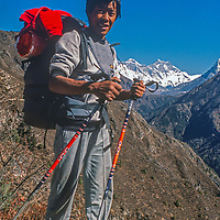 Sundari Sherpa, one of the earliest young Sherpa Mountaineers to summit Everest multiple times.