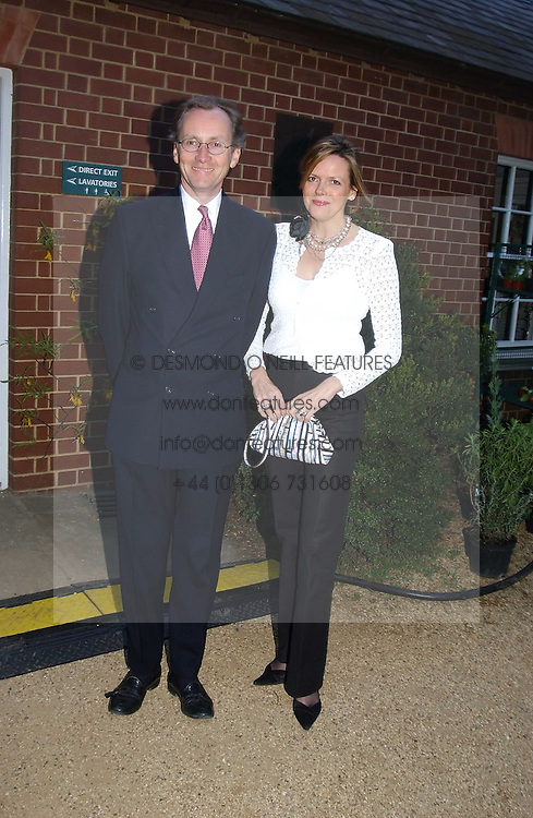 The EARL & COUNTESS OF WOOLTON at the annual Cartier Flower Show Diner held at The Physics Garden, Chelsea, London on 23rd May 2005.<br /><br />NON EXCLUSIVE - WORLD RIGHTS