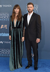 Stars attend the 22nd Annual Critics Choice Awards in Santa Monica, California. 11 Dec 2016 Pictured: Jessica Biel, Justin Timberlake. Photo credit: Bauer Griffin / MEGA TheMegaAgency.com +1 888 505 6342