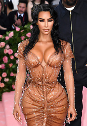 "Kim Kardashian West at the 2019 Costume Institute Benefit Gala celebrating the opening of ""Camp: Notes on Fashion"".<br />