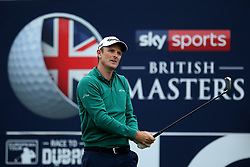 Justin Rose during day two of the British Masters at Walton Heath Golf Club, Surrey. PRESS ASSOCIATION Photo. Picture date: Friday October 12, 2018. See PA story GOLF Masters. Photo credit should read: Steven Paston/PA Wire. RESTRICTIONS: Editorial use only, No commercial use without prior permission.