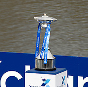 Putney, London, Boat Race Trophy, 156th University Boat Race, River Thames, between Putney and Chiswick, on the Championship Course.  Saturday  03/04/2010 [Mandatory Credit Karon Phillips/Intersport Images]