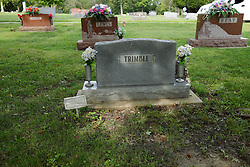 31 August 2017:   Veterans graves in Dawson Cemetery in eastern McLean County.<br /> <br /> Denzel Lee Trimble  Private First Class US Army Korea  Jan 24 1930  Sep 23 2007