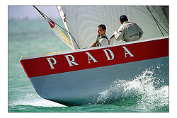 Prada unfortunately never gained the upper hand against the home team...New Zealand, a country that absorbs their sportng achievements into legend. The America's Cup, the oldest sporting trophy,  won and retained by an NZ based syndicate, with considerable state aid and of course the support of the people, in their droves...Marc Turner / PFM