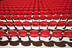 Empty seats in the stands before the UEFA Euro 2020 Group D match at Wembley Stadium, London. Picture date: Sunday June 13, 2021.
