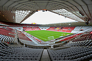 General view inside the Stadium Of Light, Sunderland, England before the EFL Sky Bet League 1 match between AFC Sunderland and Portsmouth FC on 24 October 2020.