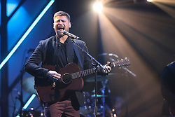 October 16, 2018 - Nashville, TN, U.S. - NASHVILLE, TN - OCTOBER 16: Cory Asbury performs during the 49th Annual Dove Awards on October 16, 2018, at Allen Arena in Nashville, TN. (Photo by Jamie Gilliam/Icon Sportswire) (Credit Image: © Jamie Gilliam/Icon SMI via ZUMA Press)