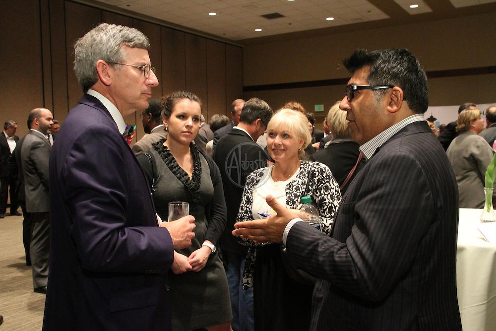 Seattle Metropolitan Chamber of Commerce 130th Annual Meeting. Bob Donegan SMCC chairman (Ivar's).