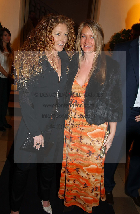 Interior designer KELLY HOPPEN and designer ANYA HINDMARSH<br /><br />at a party to celebrate the 10th anniversary of Jo Malone the perfumer held at The Banquetting House, Whitehall, London on 21st October 2004.<br /><br /><br /><br />NON EXCLUSIVE - WORLD RIGHTS
