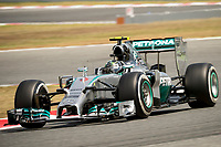 ROSBERG Nico (Ger) Mercedes Gp Mgp W05 action  during the 2014 Formula One World Championship, Grand Prix of Spain from may 8 to 11th 2014, in Barcelona, Spain. Photo Vincent Curutchet / DPPI