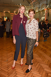 Jade Parfitt and Jasmine Guinness at the ASAP VIP lunch (African Solutions To African Problems) held at the RHS Lindley Hall, 80 Vincent Square, London, England. 10 October 2018.