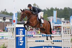 De Boer Julian, (NED), Flambeau<br /> Isah Cup 5 Jarige springpaarden <br /> KWPN Kampioenschappen Ermelo 2015<br /> © Hippo Foto - Dirk Caremans