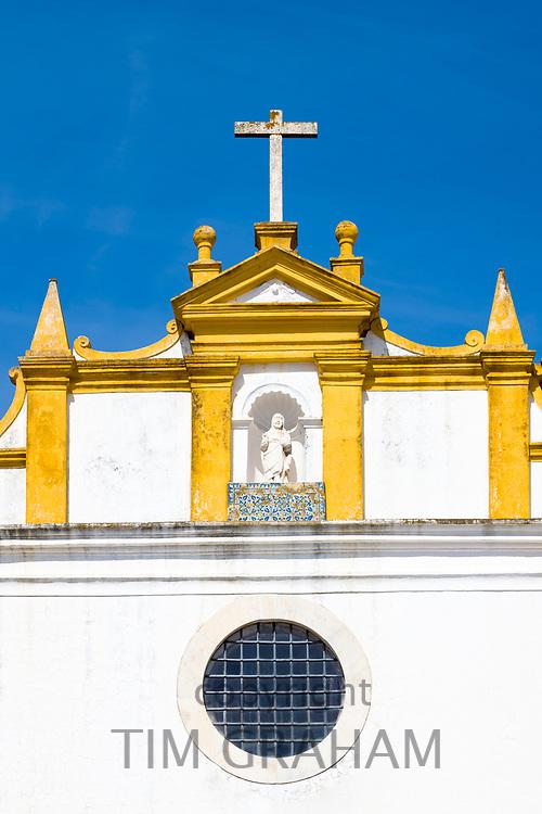 El Salvador Church in Praca de Sertorio Evora in Portugal