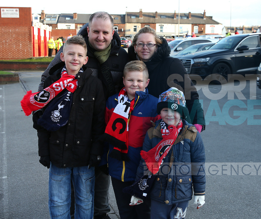 Sheffield Utd fans for fans gallery during the English League One match at Bramall Lane Stadium, Sheffield. Picture date: December 26th, 2016. Pic Simon Bellis/Sportimage