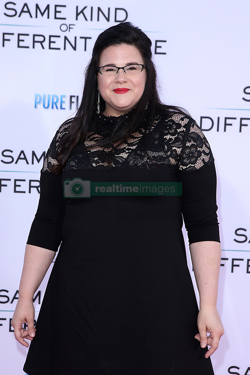 "Ann Mahoney at the Paramount Pictures And Pure Flix Entertainment's ""Same Kind Of Different As Me"" Premiere held at the Westwood Village Theatre on October 12, 2017 in Westwood, California, USA (Photo by Art Garcia/Sipa USA)"