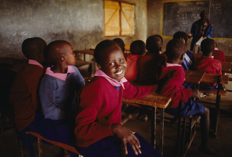 School for Masai children.
