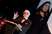 Photograph of comedian and speaker Barry cryer at a Conference event for Royal Bank of Scotland at the EICC Edinburgh