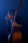 Dan Kaufman with bass.