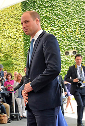 July 19, 2017 - Berlin, Deutschland - Prince William.Chancellor Angela Merkel welcomes Prince William and Catherine Duchess of Cambridge in the Federal Chancellery, Berlin, Germany - 19 Jul 2017.Credit: MichaelTimm/face to face (Credit Image: © face to face via ZUMA Press)