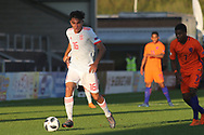 Oscar Castro Dorta of Spain (16) during the UEFA European Under 17 Championship 2018 match between Netherlands and Spain at the Pirelli Stadium, Burton upon Trent, England on 8 May 2018. Picture by Mick Haynes.