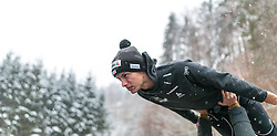 05.01.2016, Paul Ausserleitner Schanze, Bischofshofen, AUT, FIS Weltcup Ski Sprung, Vierschanzentournee, Training, im Bild Gregor Deschwanden (SUI) // Gregor Deschwanden of Switzerland before his Practice Jump for the Four Hills Tournament of FIS Ski Jumping World Cup at the Paul Ausserleitner Schanze, Bischofshofen, Austria on 2016/01/05. EXPA Pictures © 2016, PhotoCredit: EXPA/ JFK