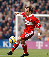 Fotball<br /> Premier League 2004/05<br /> West Bromwich Albion v Middlesbrough<br /> 14. november 2004<br /> Foto: Digitalsport<br /> NORWAY ONLY<br /> BOLO ZENDEN MIDDLESBROUGH 2004/05