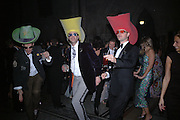 CHRISTIAN GOEBEL, HERBERT KLOIBER AND ANDREAS VON DER GOLTZ,   Andy and Patti Wong host  party to cleebrate then Chinese New Year of the Dog. Royal Courts of Justice. Strand. London. 28 January 2006. © Copyright Photograph by Dafydd Jones 66 Stockwell Park Rd. London SW9 0DA Tel 020 7733 0108 www.dafjones.com
