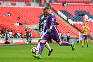 *** during the FA Vase match between Stockton Town and Thatcham Town at Wembley Stadium, London, England on 20 May 2018. Picture by Stephen Wright