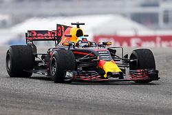 October 20, 2017 - Austin, Texas, U.S - Red Bull Racing driver Daniel Ricciardo (3) of Australia in action before the Formula 1 United States Grand Prix race at the Circuit of the Americas race track in Austin,Texas. (Credit Image: © Dan Wozniak via ZUMA Wire)