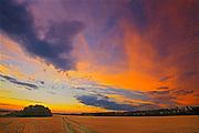 Sunrise at 'Bolton Farm'<br /> Baljennie<br /> Saskatchewan<br /> Canada