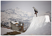 Andy Nudds in Tignes, France. Shot for Dragon Alliance
